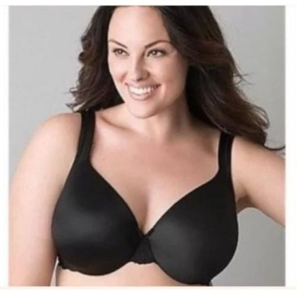 feca03eae921d NEW Lane Bryant Cacique Bra Smooth Satin Full Cove